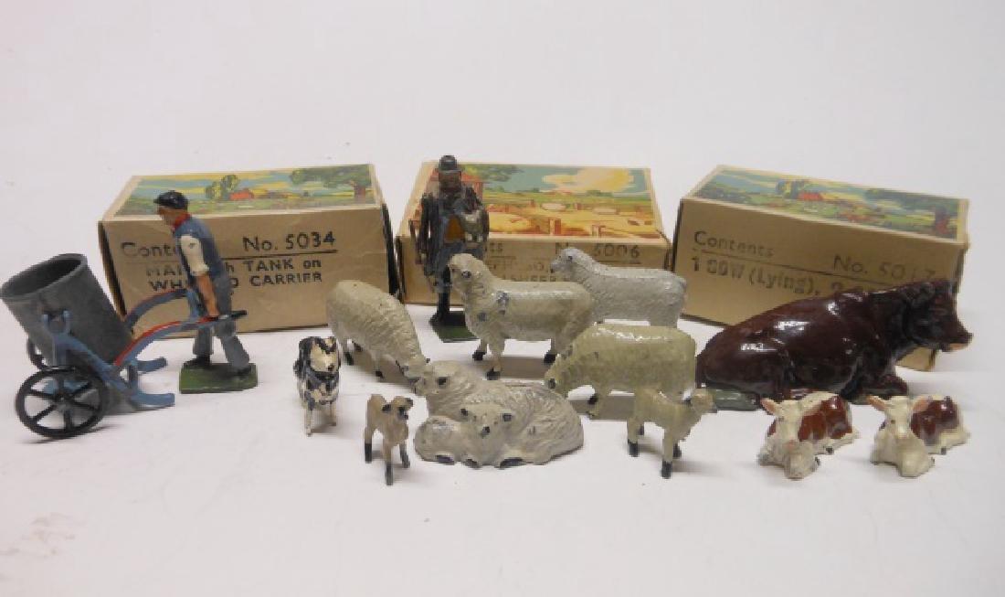 Britains Farm Picture Packs Post War