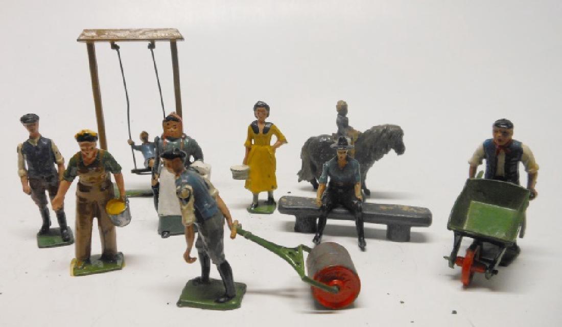 Britains Farm figures Post War