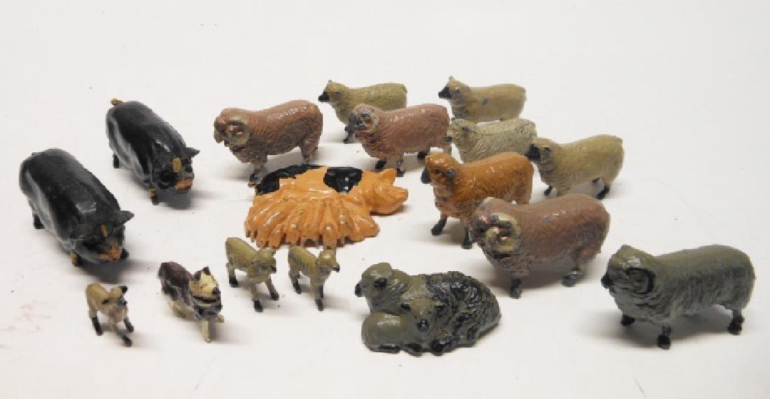 Britains Pigs, Sheep, Lambs and Sheep Dog