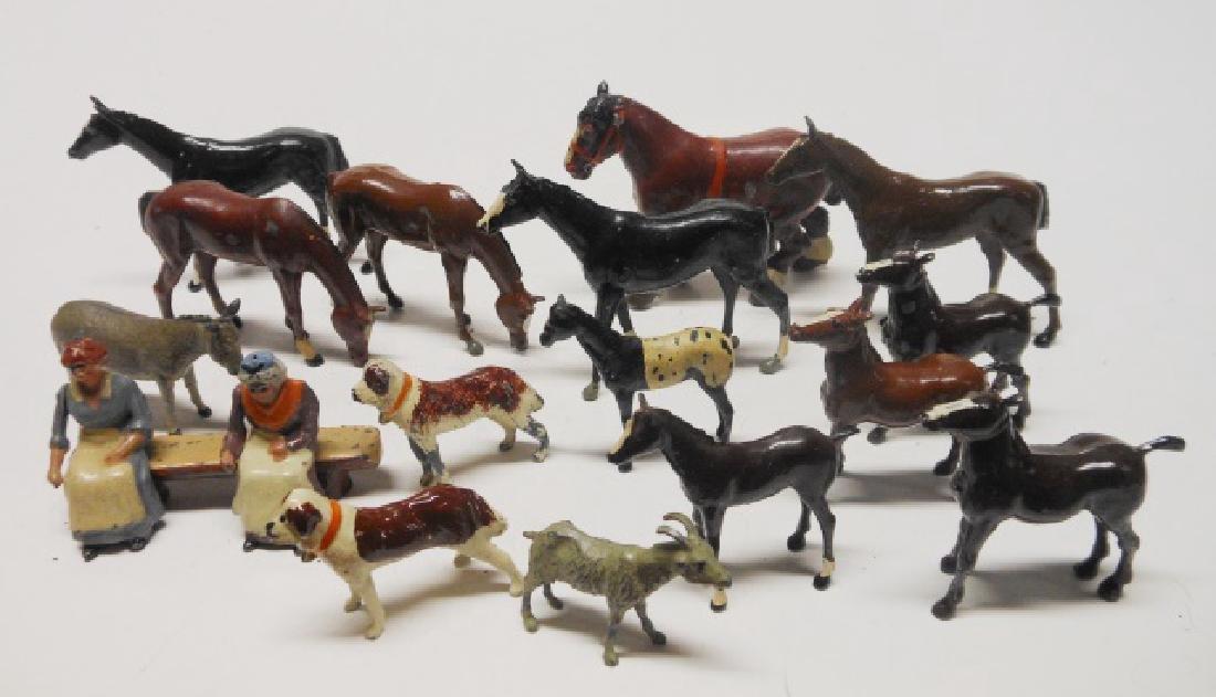 Britains Horses, Foals, Donkey, Goat, etc.