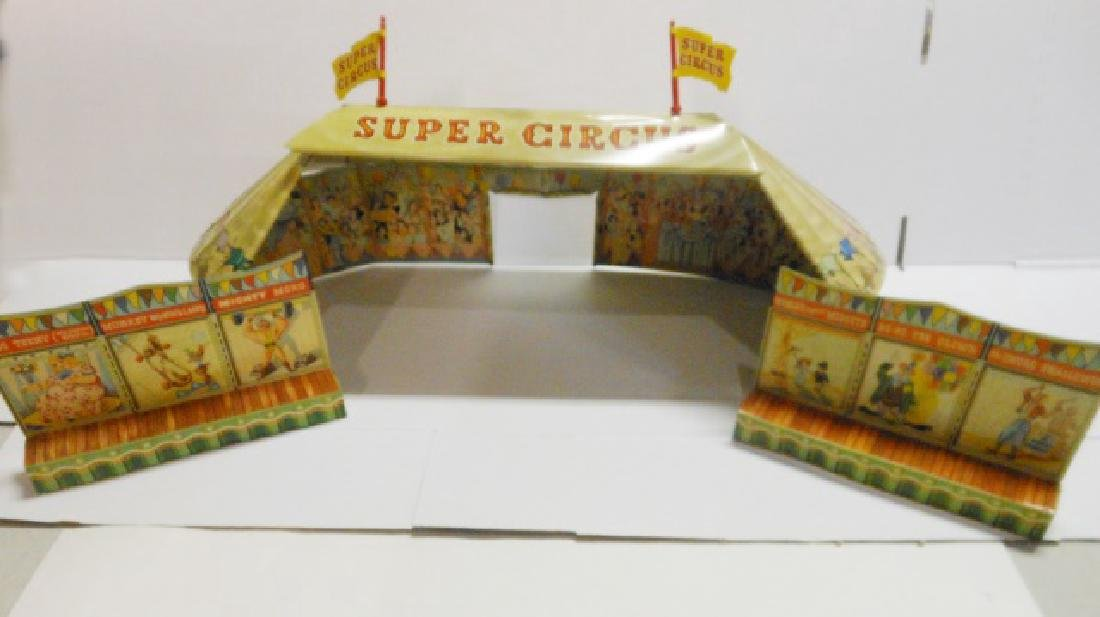 Marx Super Circus Tent and Side Shows Post War