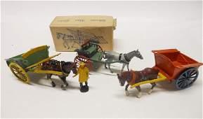 Britains Farmers Gig Charbens Hay Cart