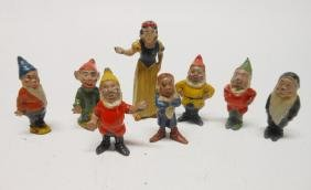 Britains Snow White and Seven Dwarfs