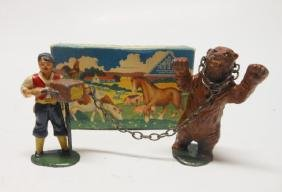 Timpo Gypsy Organ Grinder and Dancing Bear