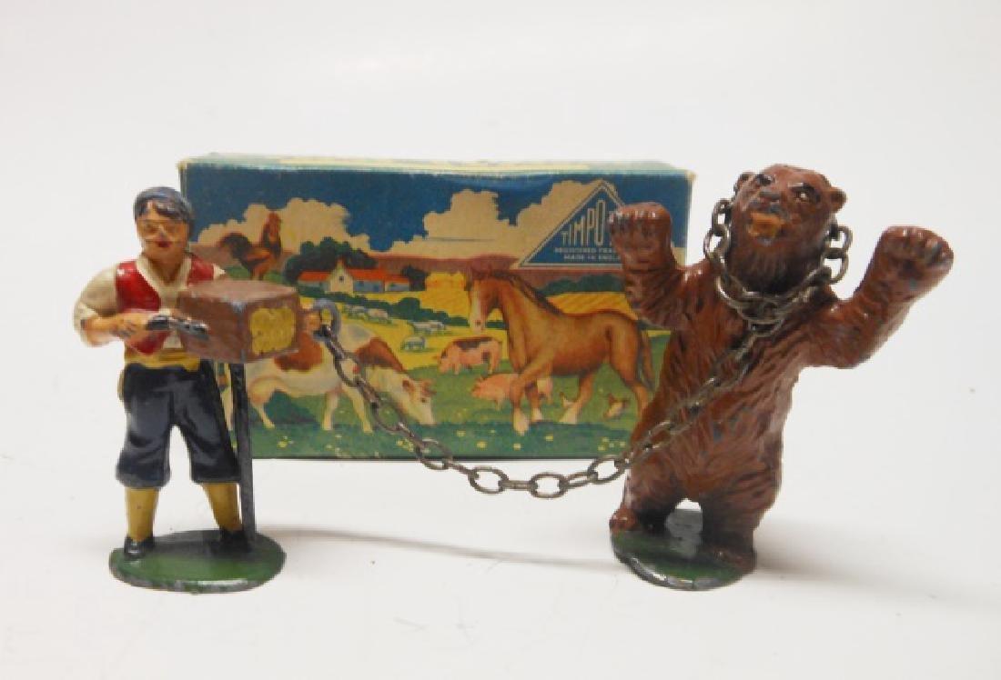 Timpo Gypsy Organ Grinder and Dancing Bear