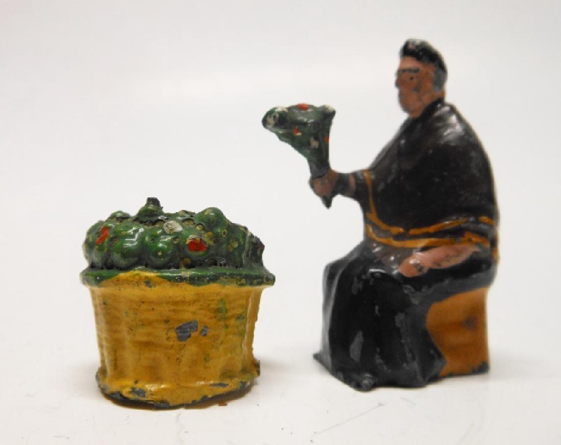 Charbens Flower Seller with Basket