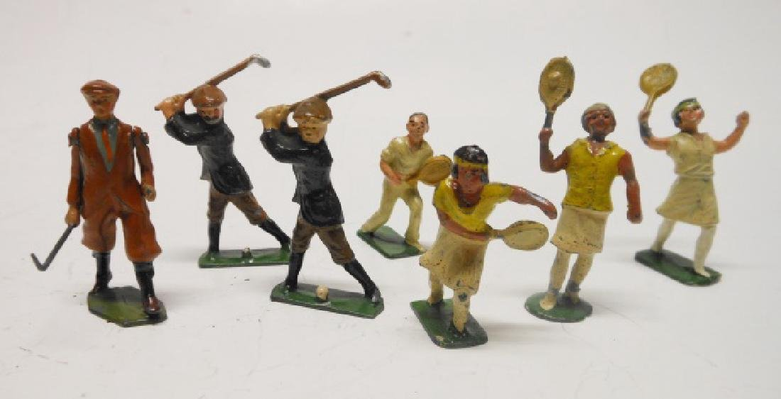 Britains and Johillco Sports Figures