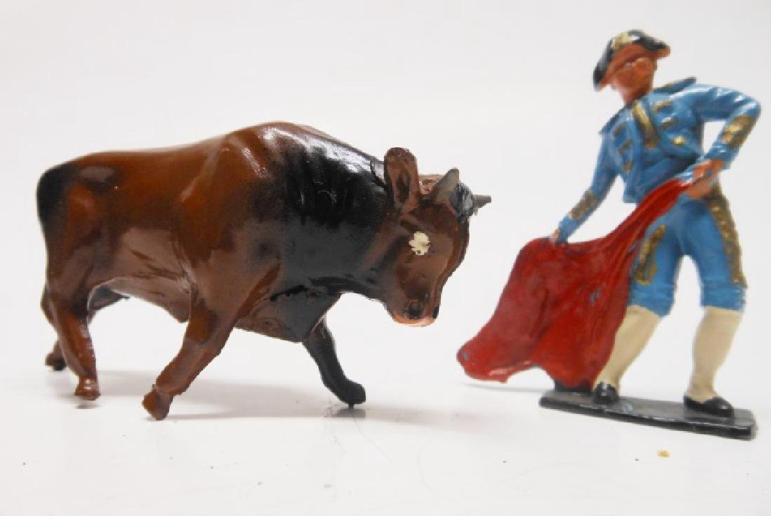 Crescent Bull Fighter and Bull