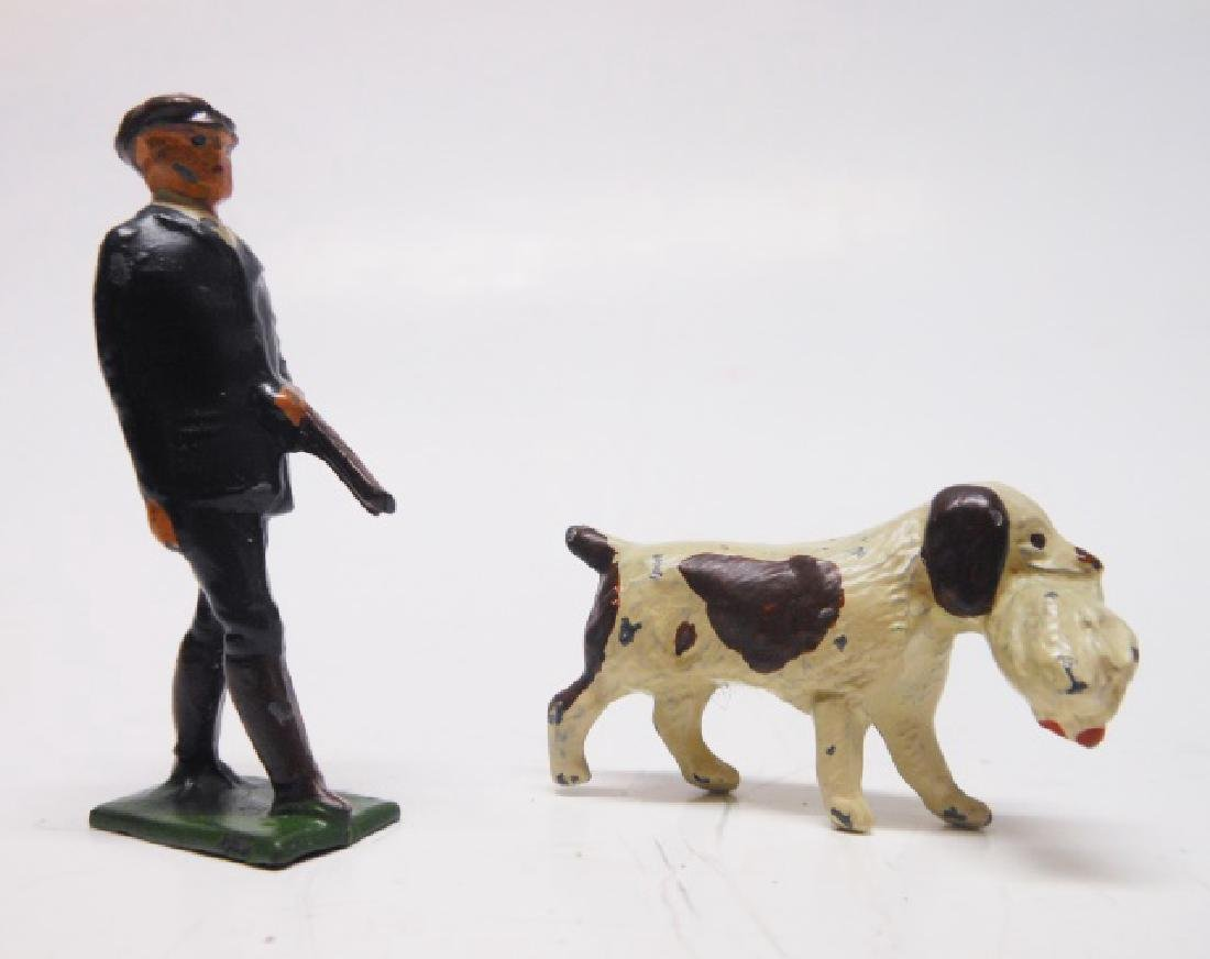 Charbens Game Keeper and Dog with Fowl