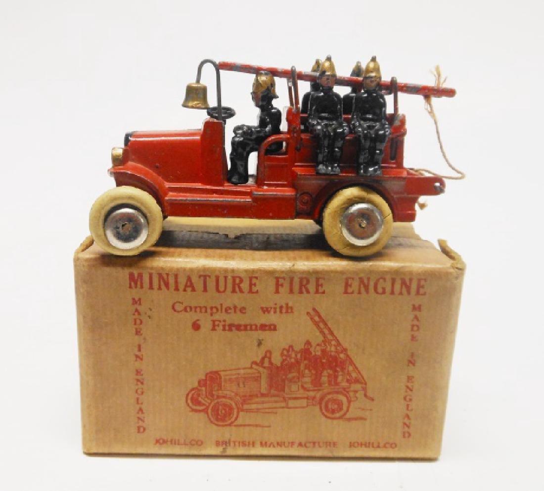 Johillco Fire Engine and Crew in Original Box