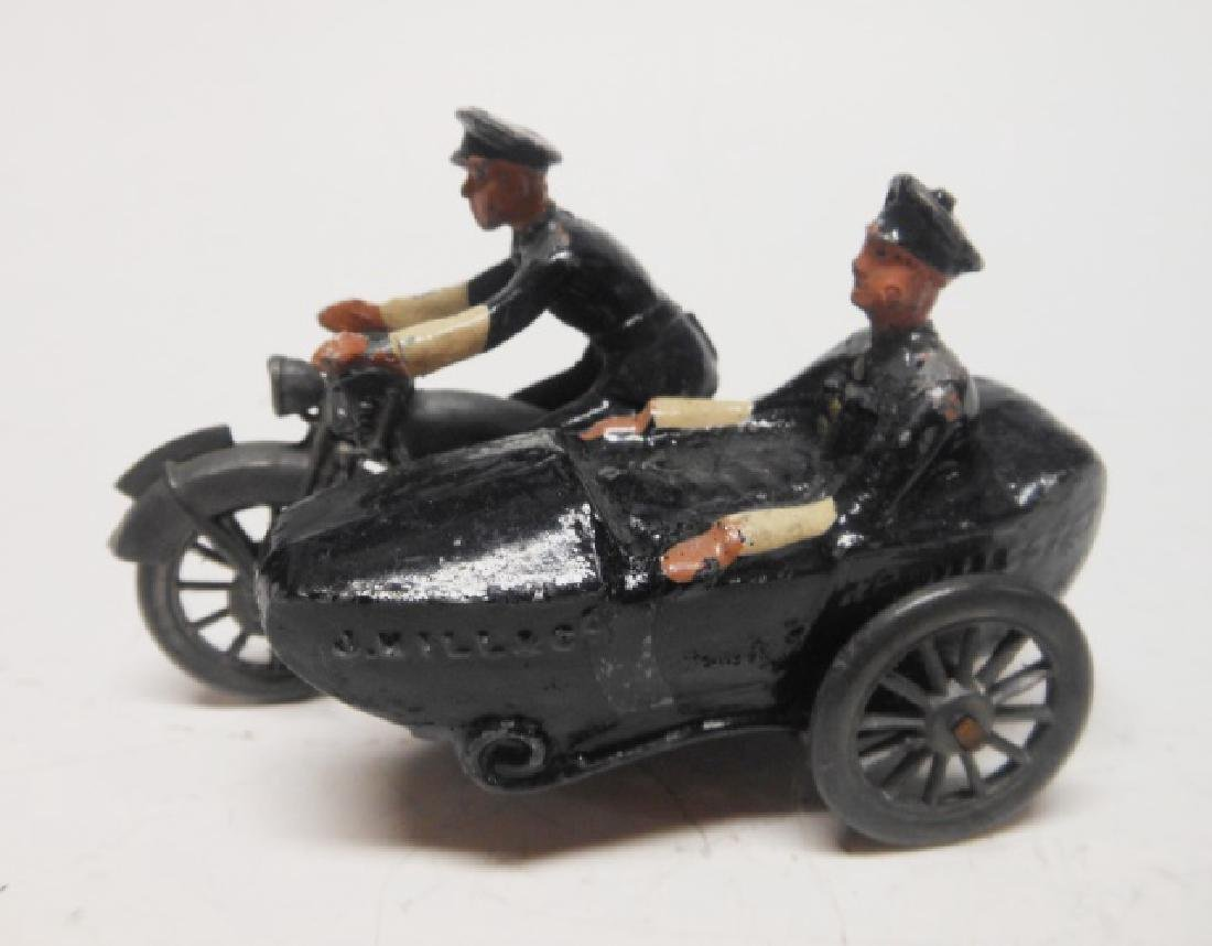 Johillco Police Motorcycle and Side Car