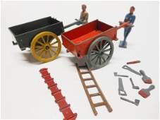 Crescent Builders with Carts and Tools