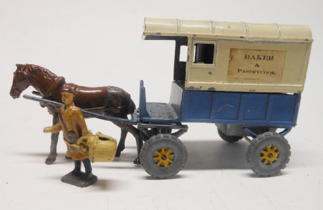 Charbens Horse Drawn Baker's Van and Baker