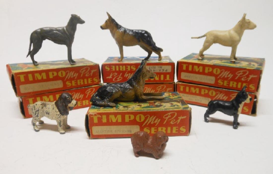 Timpo My Pets Dogs Series with Original Boxes