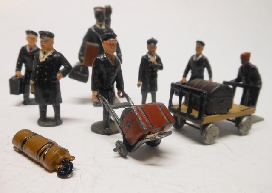 Johillco Railway Staff and Equipment