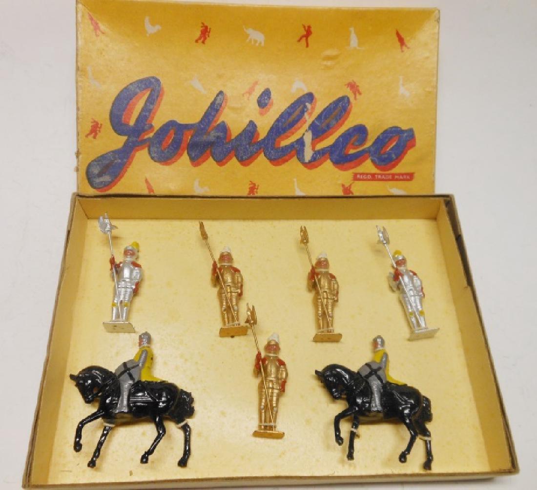 Johillco Knights/ Crusaders Tied in Original Box