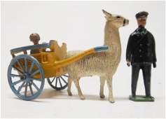 Barrett and Son Llama Cart Ride