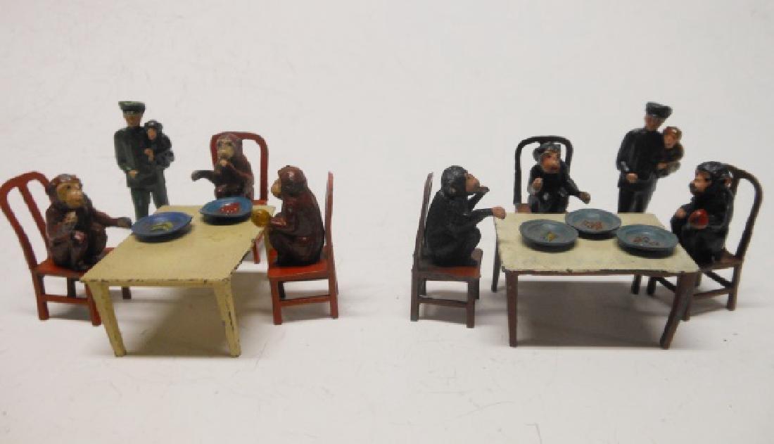 Taylor and Barrett Chimps Tea Party