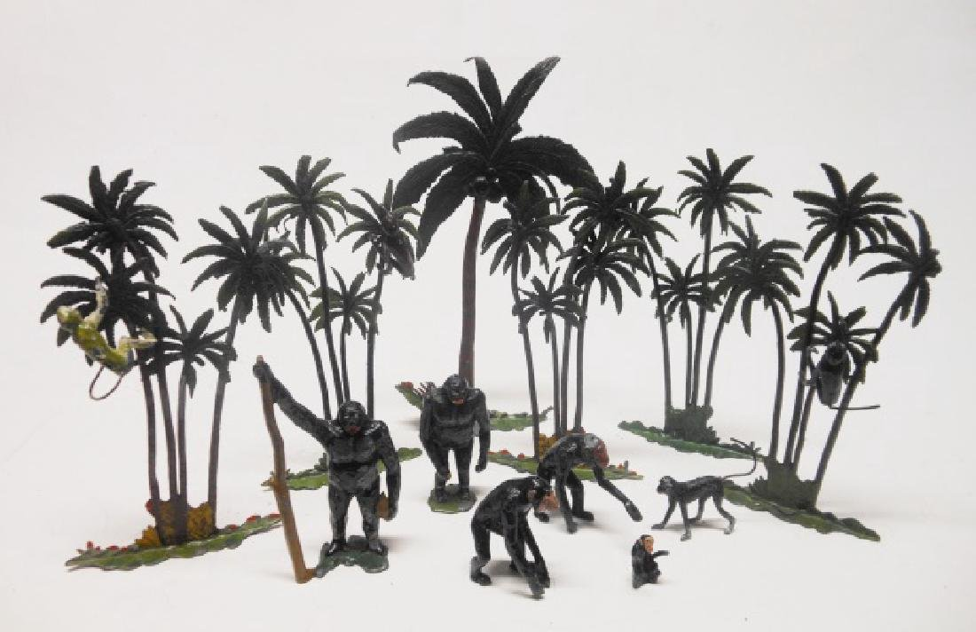 Britains Zoo Monkey and Tree Assortment