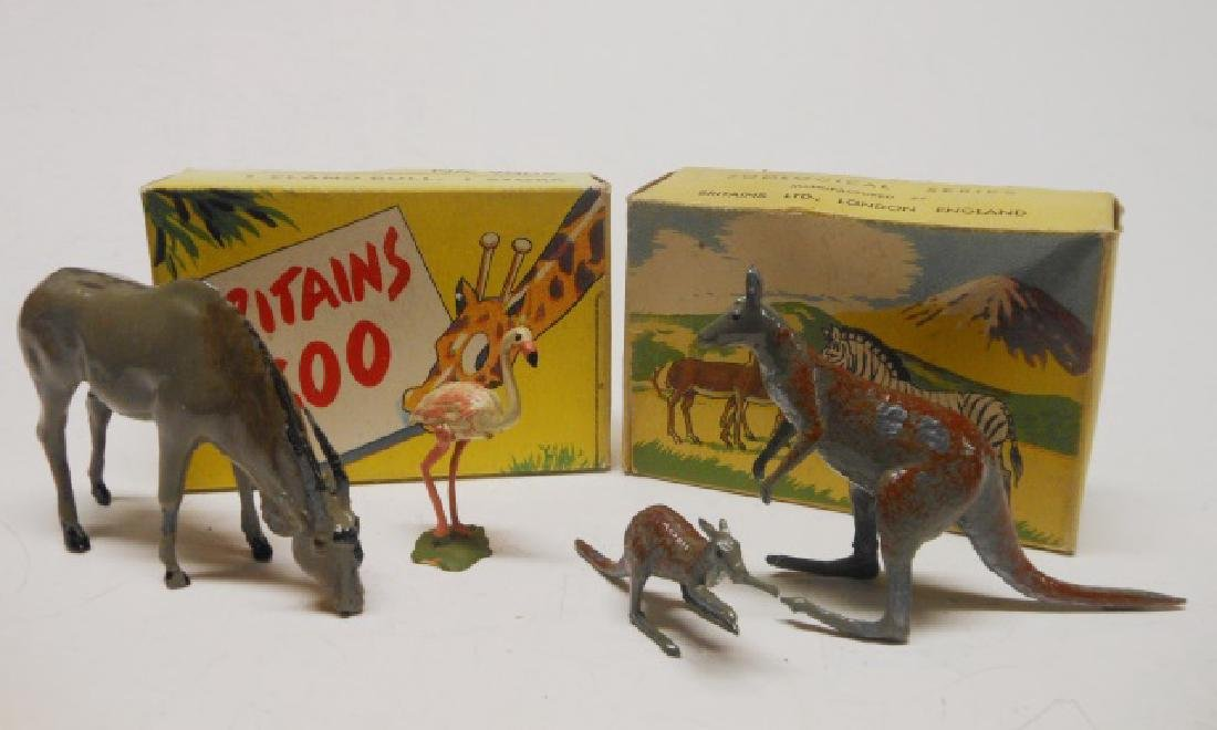 Britains Zoo Picture Packs Sets #9004 and #9009