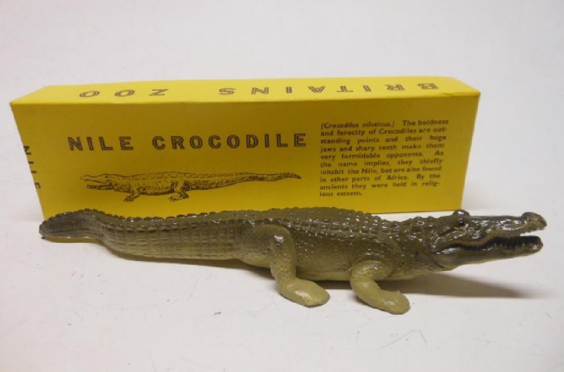 Britains Set #917 Zoo Nile Crocodile