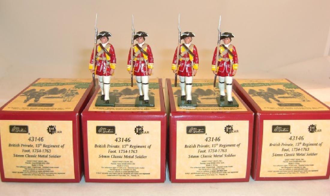 Britains Redcoats & Bluecoats 4 x #43146