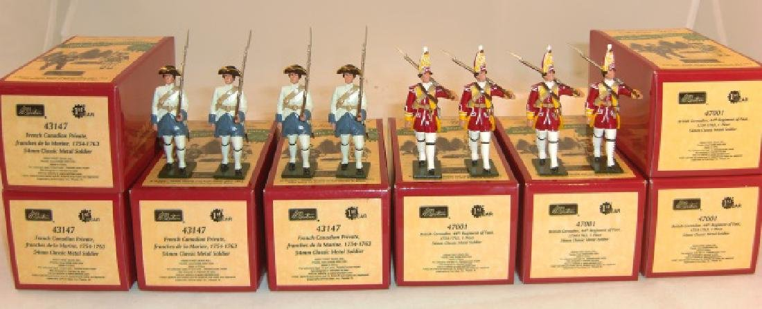 Britains Redcoats & Bluecoats 4 x #43147 French