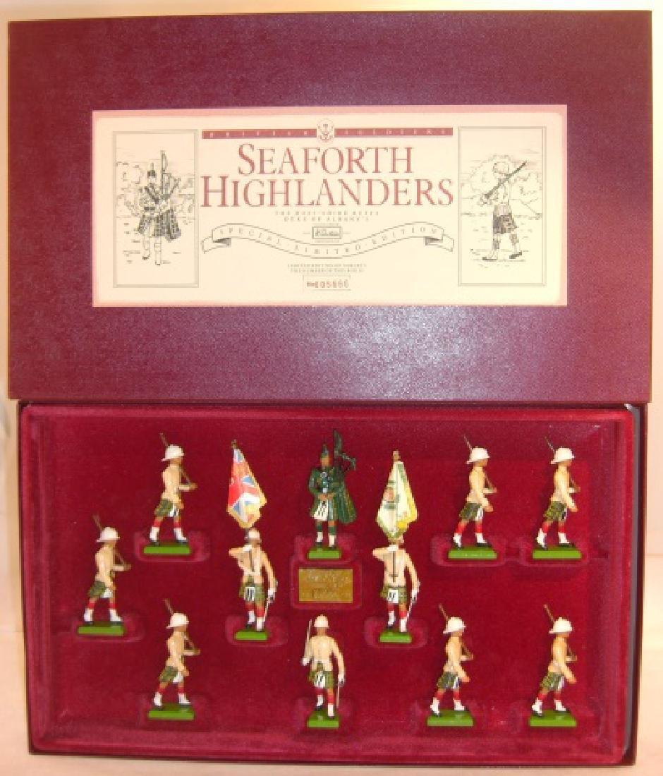 Britains Limited Edition #5188 Seaforth Highlander