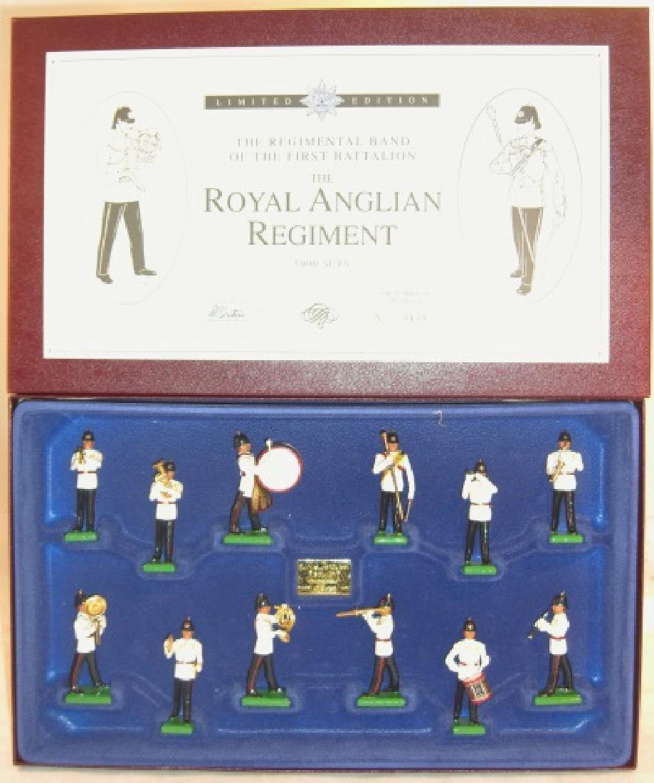Britains Limited Edition #5294 Royal Anglian Reg.