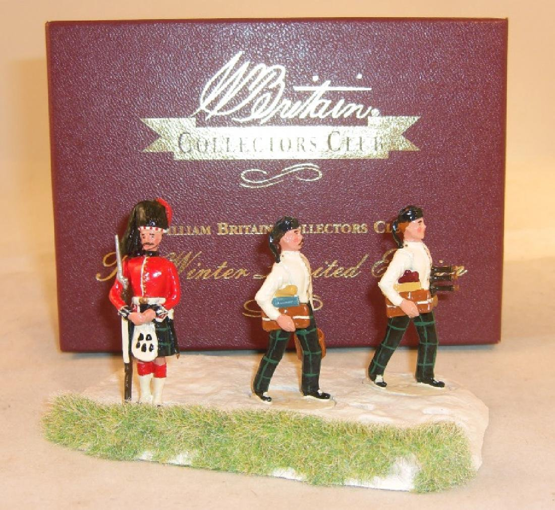 Britains Collectors Club #41129 The Winter Limited