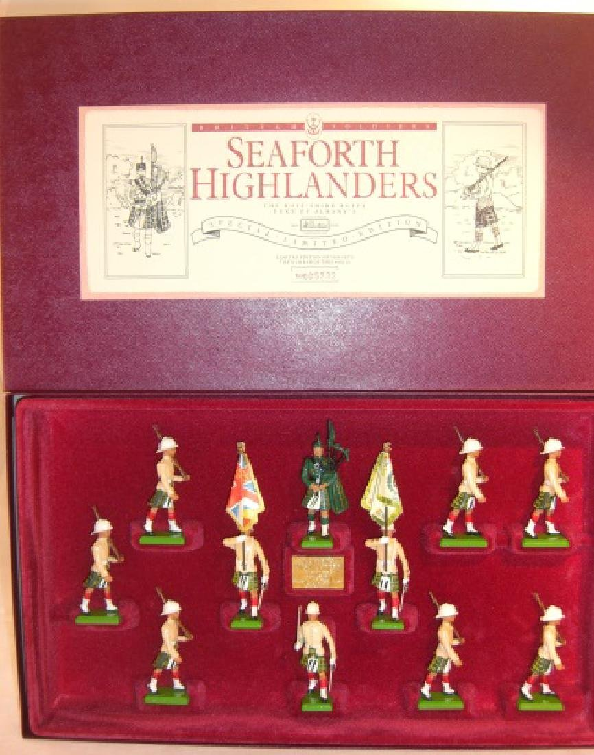 Britains Limited Edition #5188 Seaforth Highlander