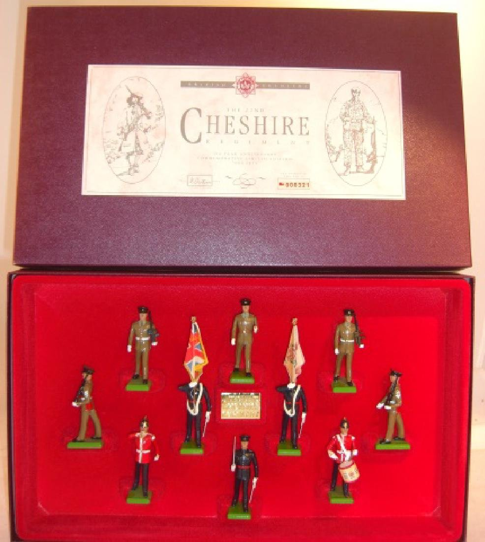Britains Limited Edition #5189 The 22nd Cheshire