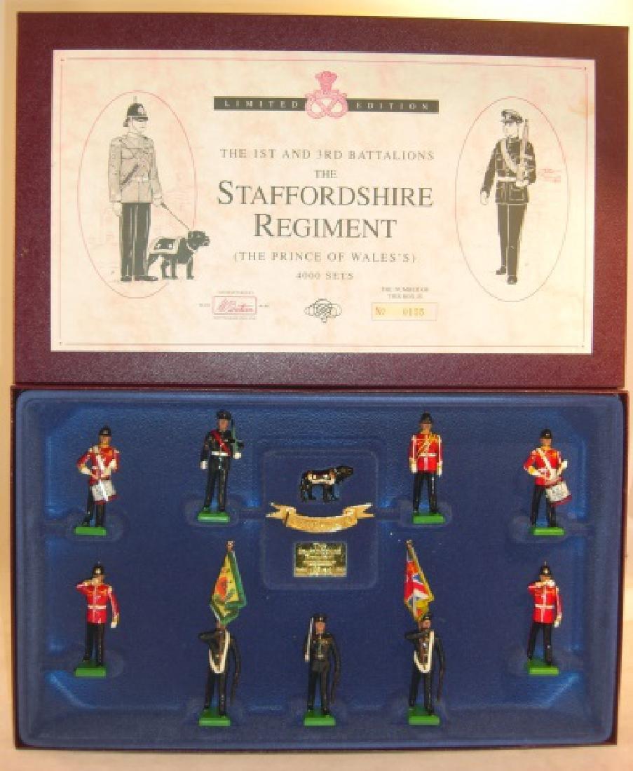 Britains Limited Edition #5199 Staffordshire Reg.