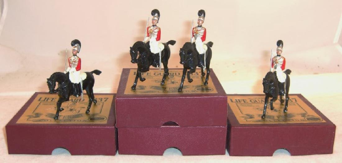Britains Centenary Collection 4 x #8824 Life Guard