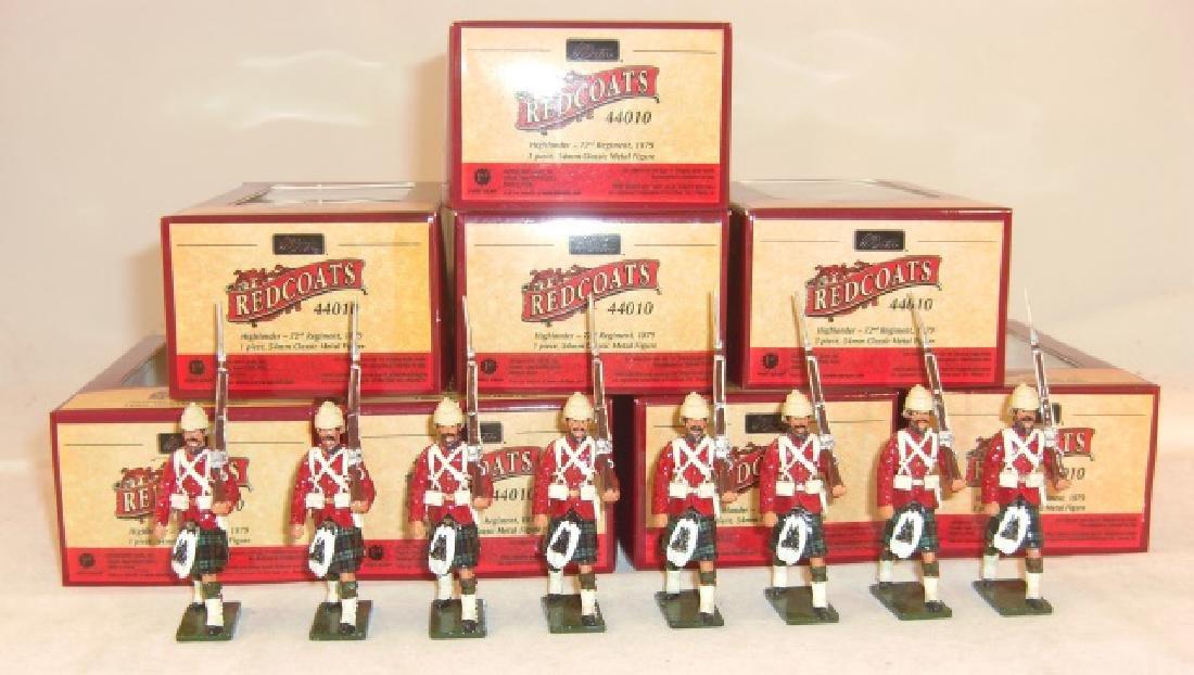 Britains Redcoats 8 x #44010 Highlander