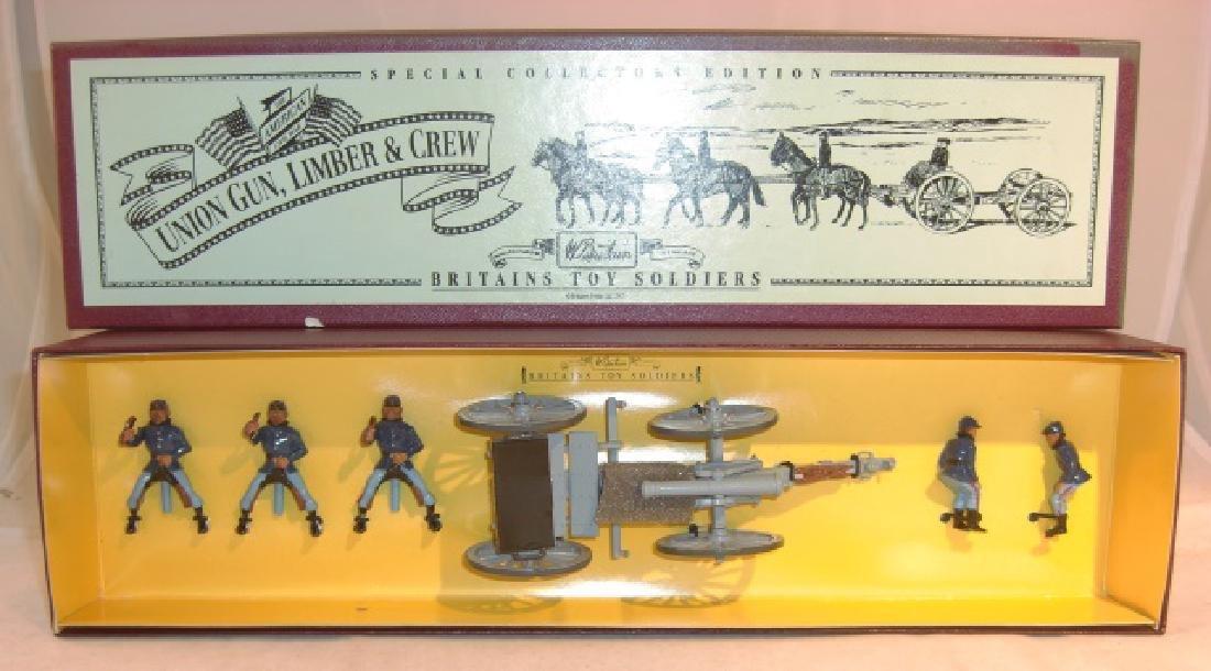 Britains Union Gun, Limber & Crew #8869