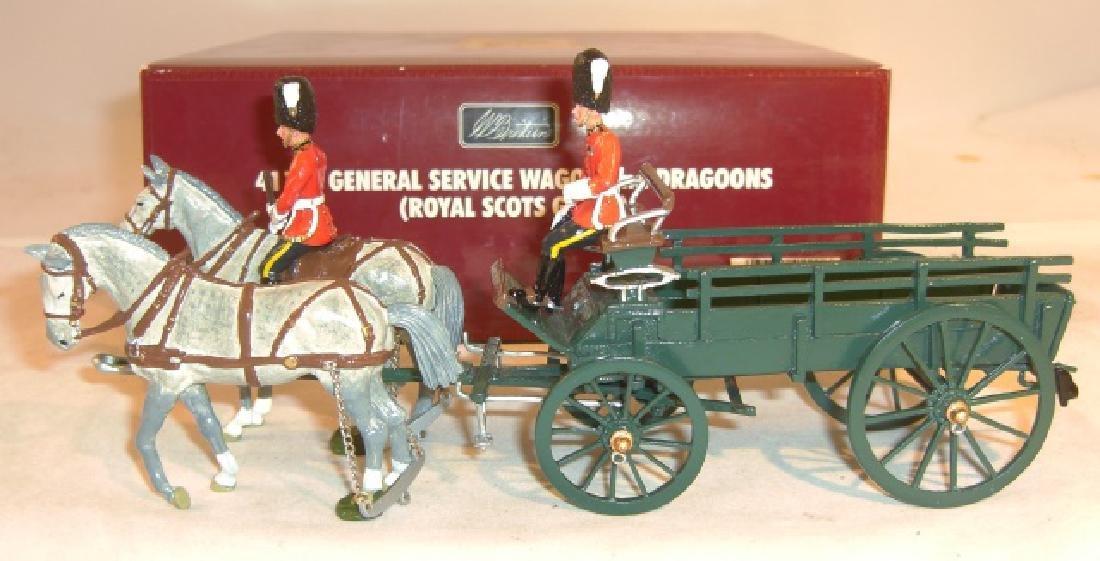 Britains General Service Wagon #41111 2nd Dragoons