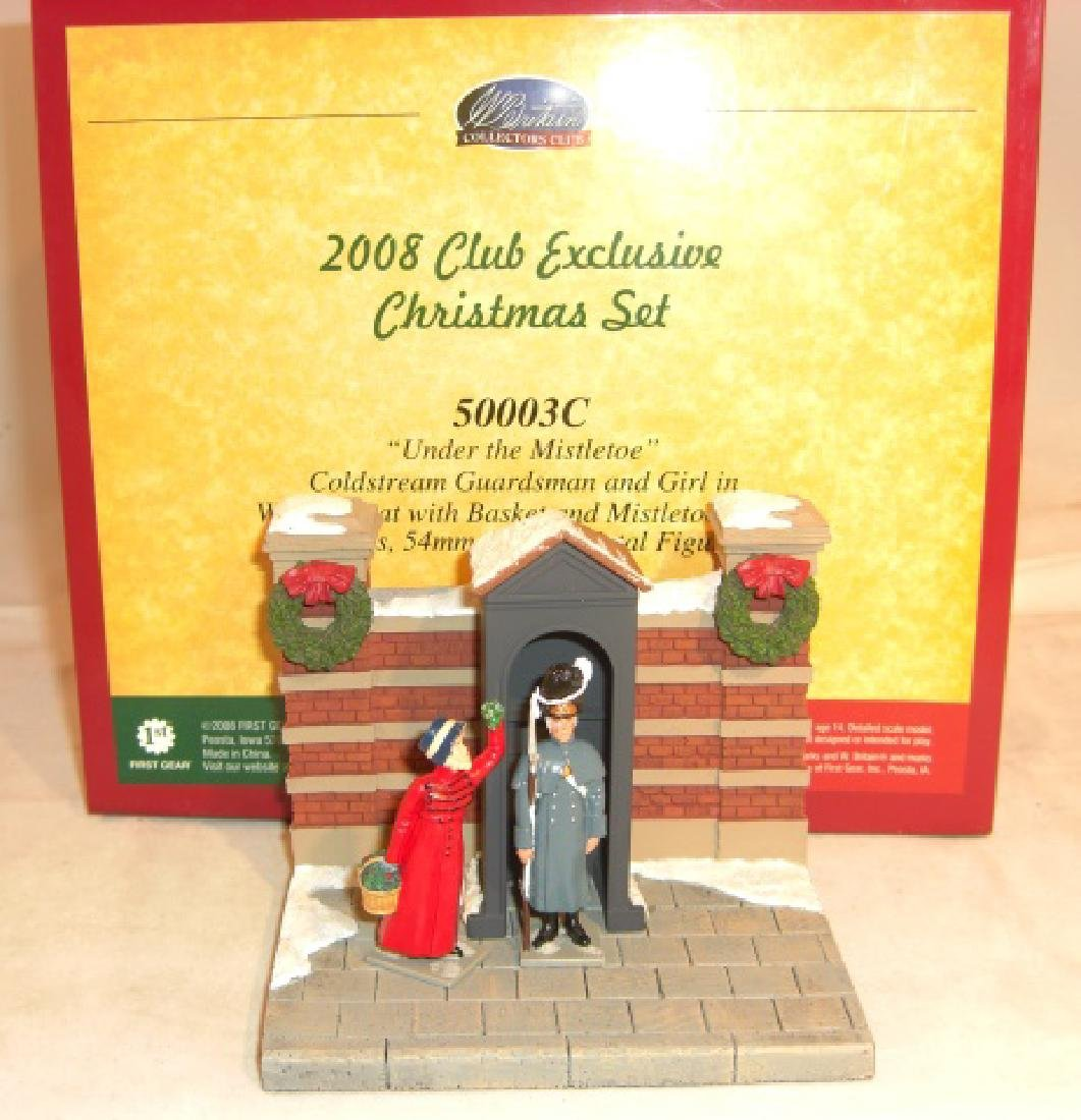 Britains 2008 Club Exclusive Christmas Set #50003c