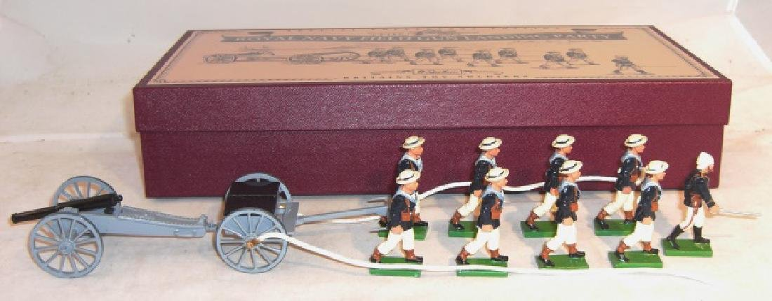 Britains Royal Navy Field Gun Landing Party #8898