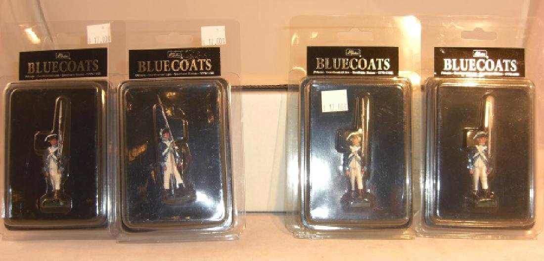 Britains Bluecoats 4 x #46000 Private Continental