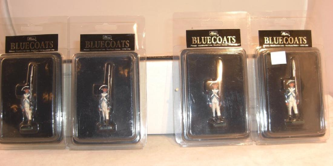 Britains Bluecoats 4 x 46000 Private Continental