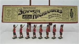 Britains Set #112 Seaforth Highlanders