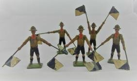 Britains Set #163 Boy Scout Signalers