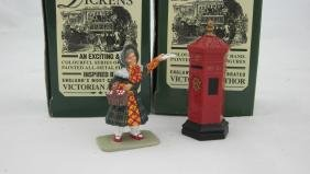 King & Country #D031 Kate Nickleby & Postbox