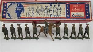 Metal Cast American Infantry
