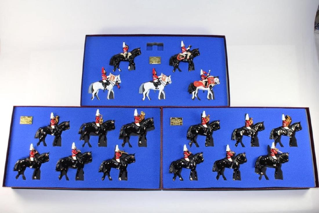 Britains Set #5195, #5195 x 2 Life Guards Mounted
