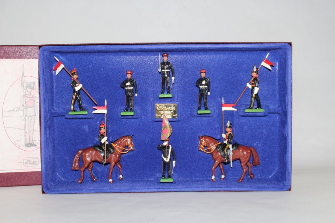 Britains Set #5392 The Royal 9/12th Lancers