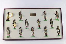 Britains Set Regimental Band 1st Battalion Hamleys