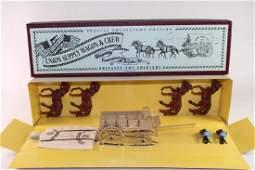 Britains Set 8873 Union Supply Wagon And Crew