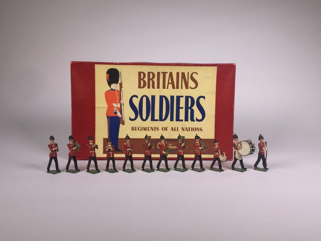 Britains Set #27 Line Infantry Band